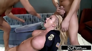 Police berth summer brielle double-teamed by yoke the mob